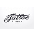Tattoo Lettering vector image