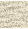 Handwriting background vector image
