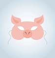 Pig Mask vector image
