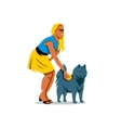 Dog Training Cartoon vector image