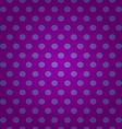 Seamless purple polka dots pattern vector image