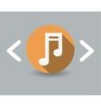 melody icon vector image