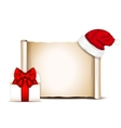 Christmas banners on white background vector image
