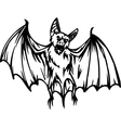 bat - halloween set - vector image