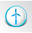 icon tower electric floor generator propeller vector image