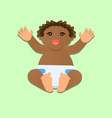 little African child vector image
