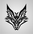 Tribal Fox Face vector image