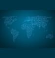 global map world map glowing atlas vector image