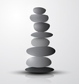 Stones - Pebbles Heap vector image