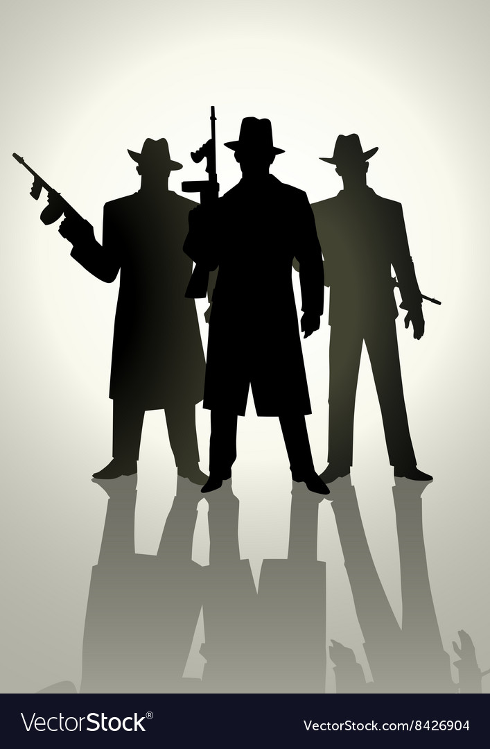 Gangsters vector
