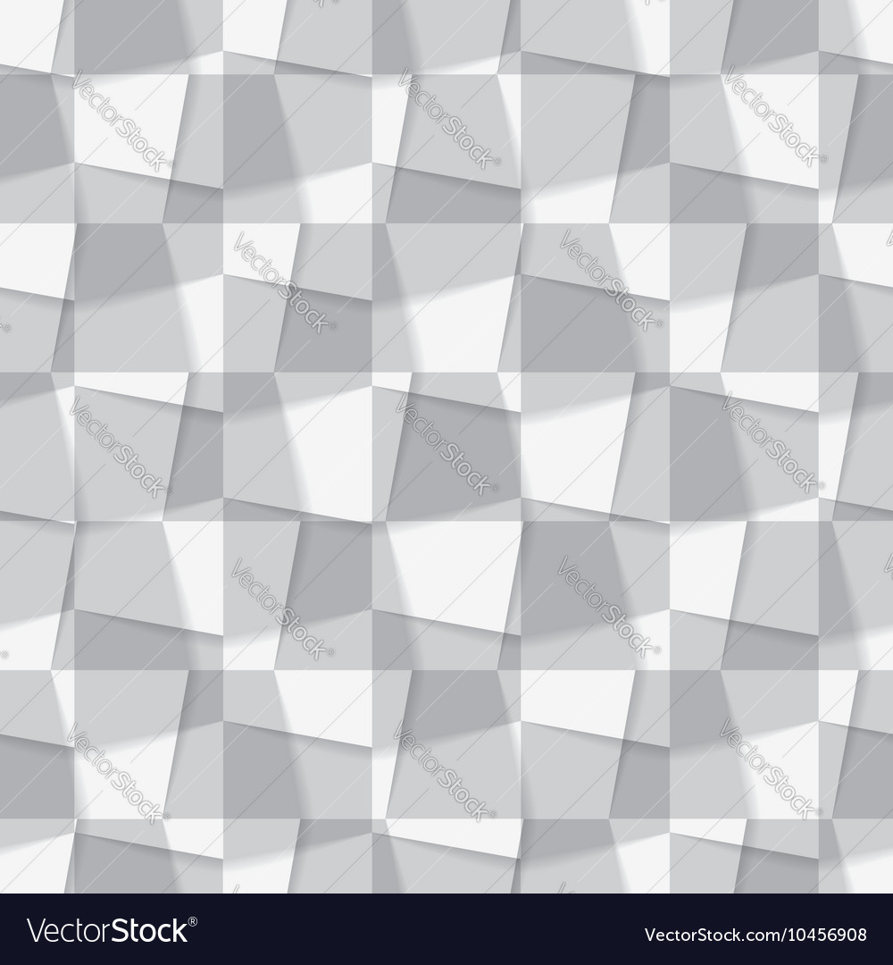 Seamless background made from geometric figures vector