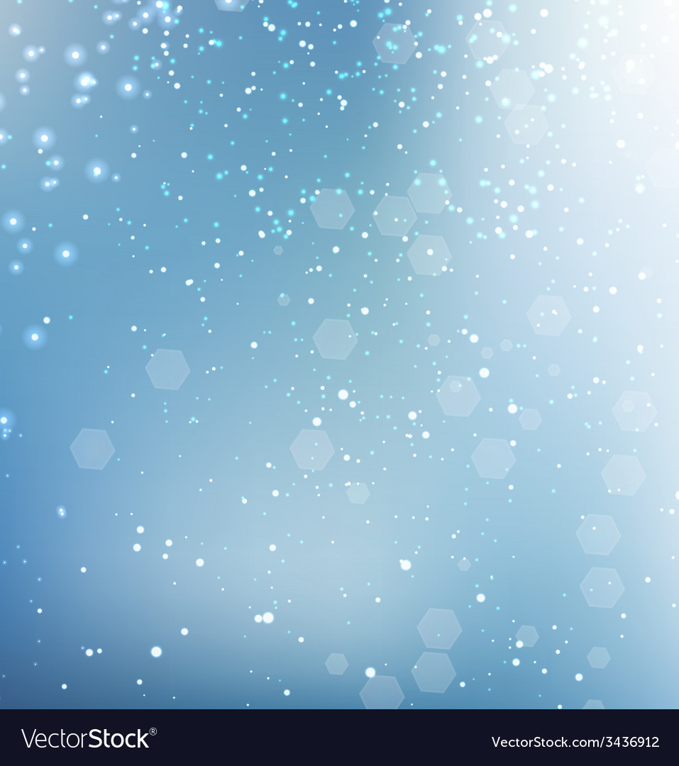 Blue glittering sparkle background vector