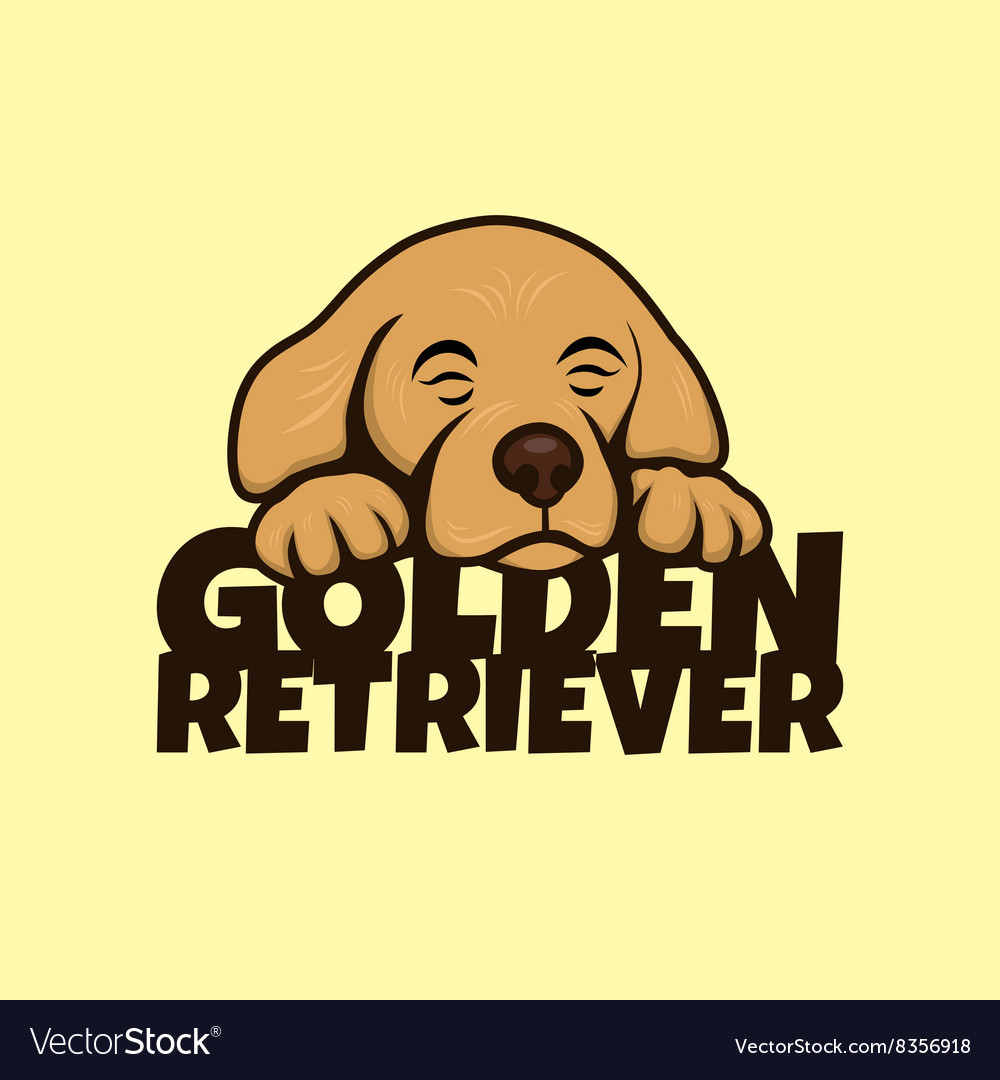 Cute little puppy vector
