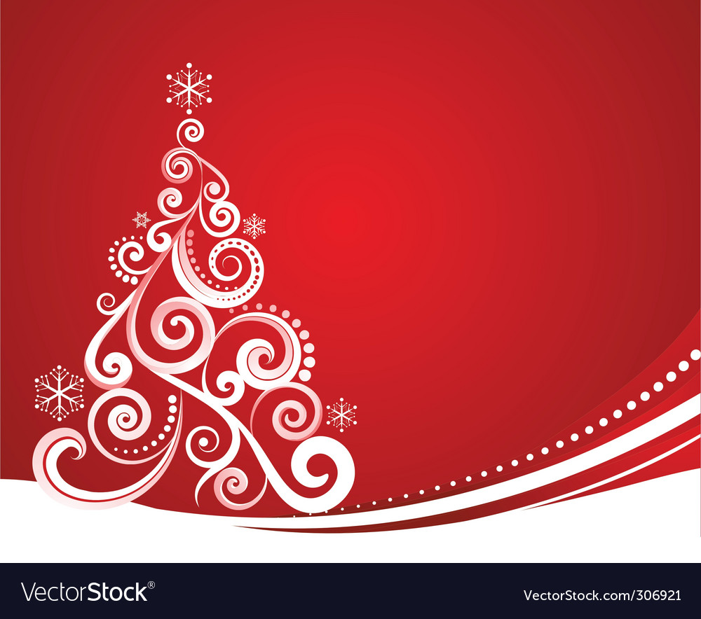 Christmas card design vector
