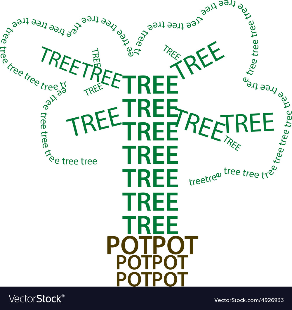 Tree green eart eps10 vector