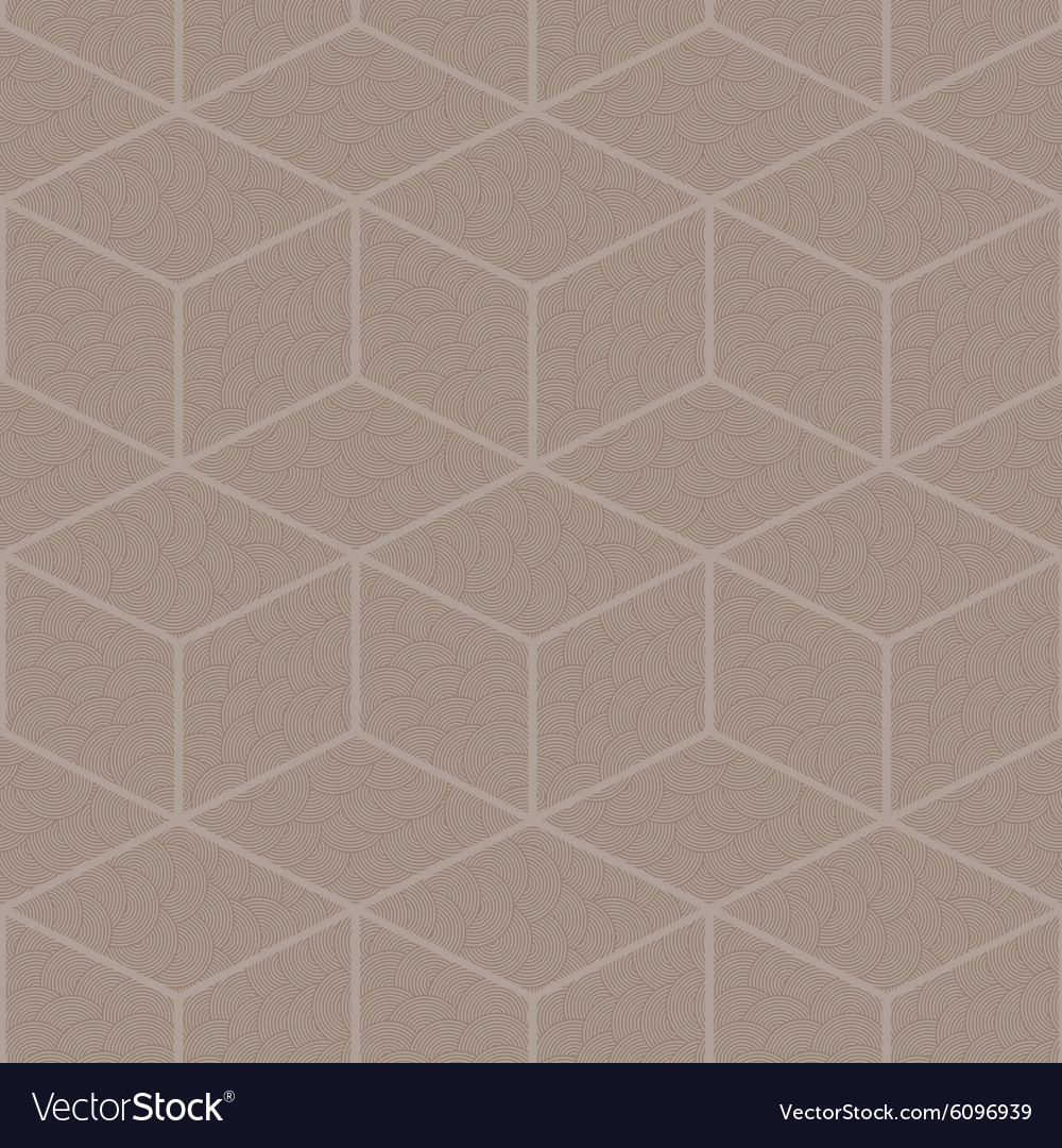 Seamless abstract pattern of diamonds vector