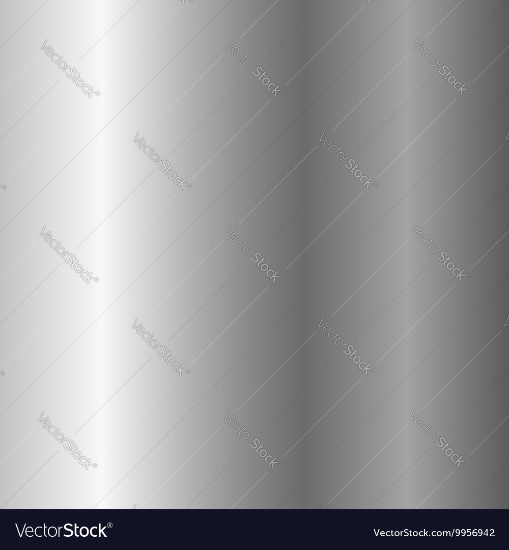 Silver metal plate texture vertical vector