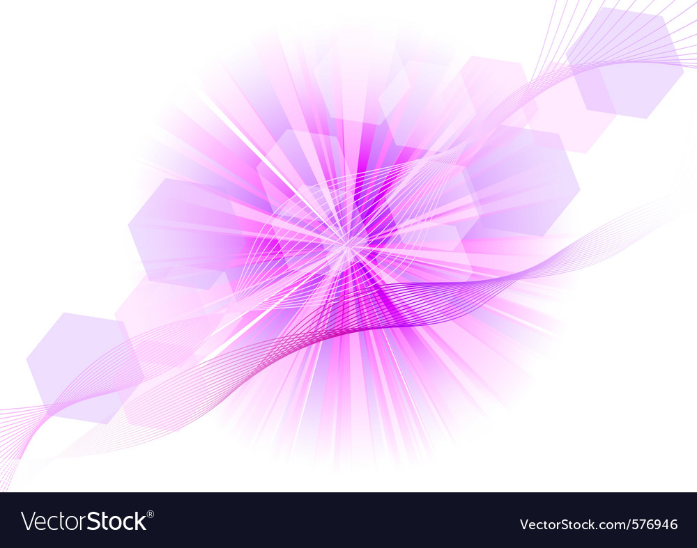 Purple explosive on the white vector