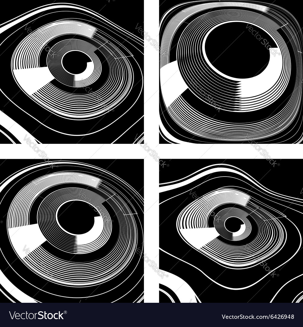 Abstract designs vector