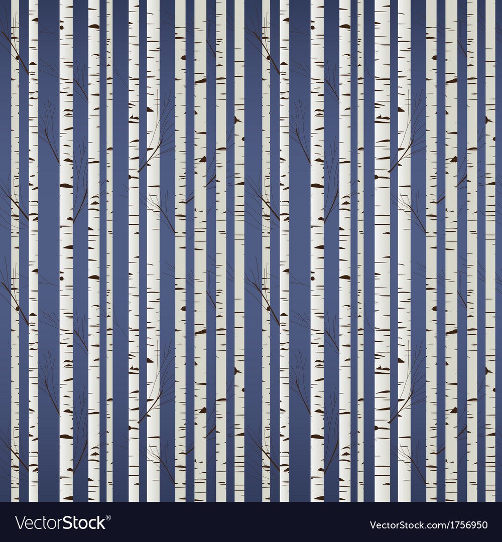 Birch wood pattern vector