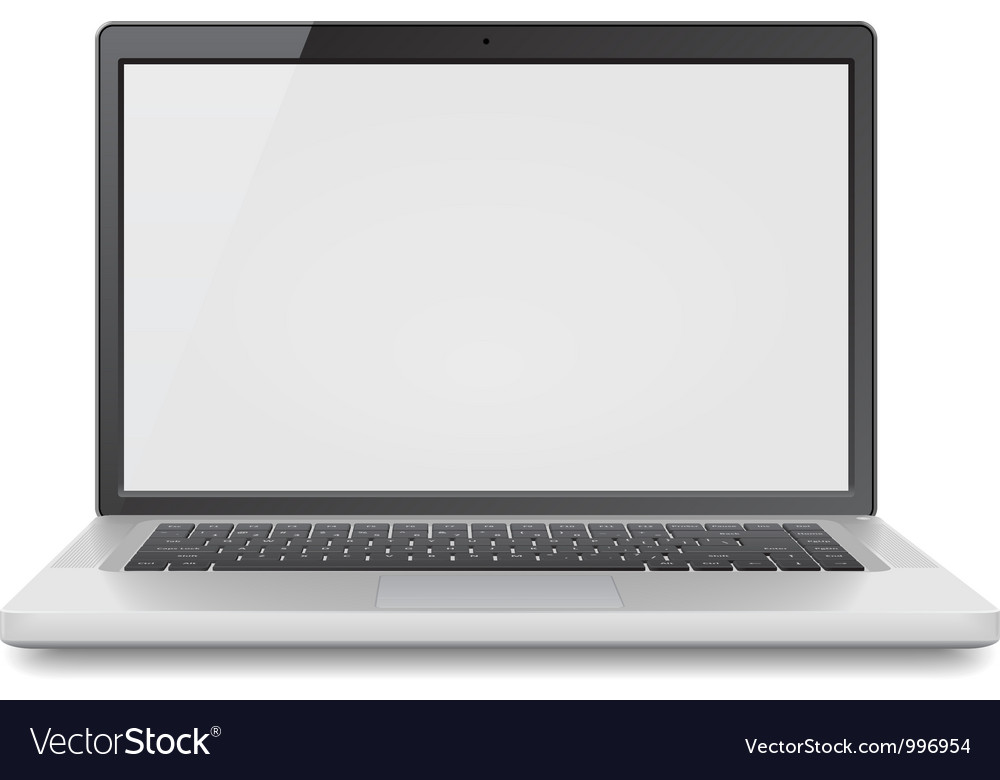Laptop vector