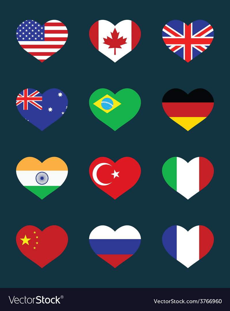 Flags of states vector