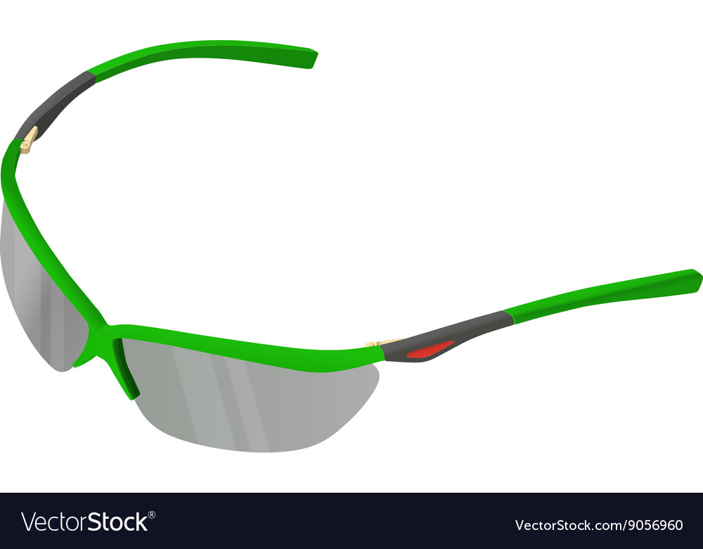 Sunglasses isometric flat 3d vector