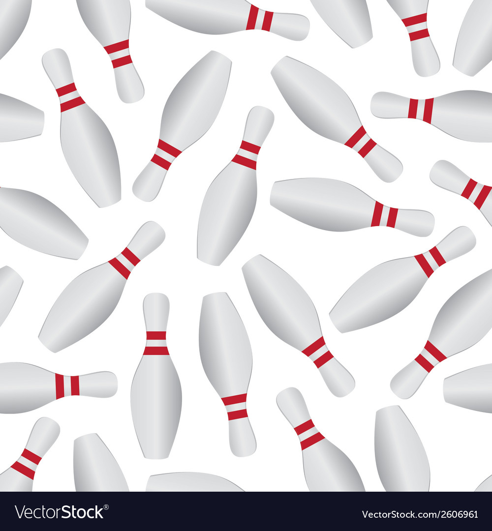 Bowling pattern eps10 vector