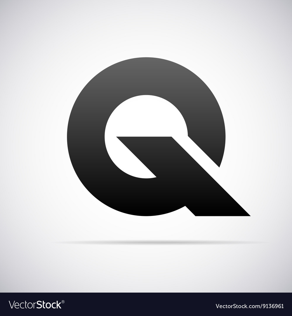 Logo for letter q design template vector
