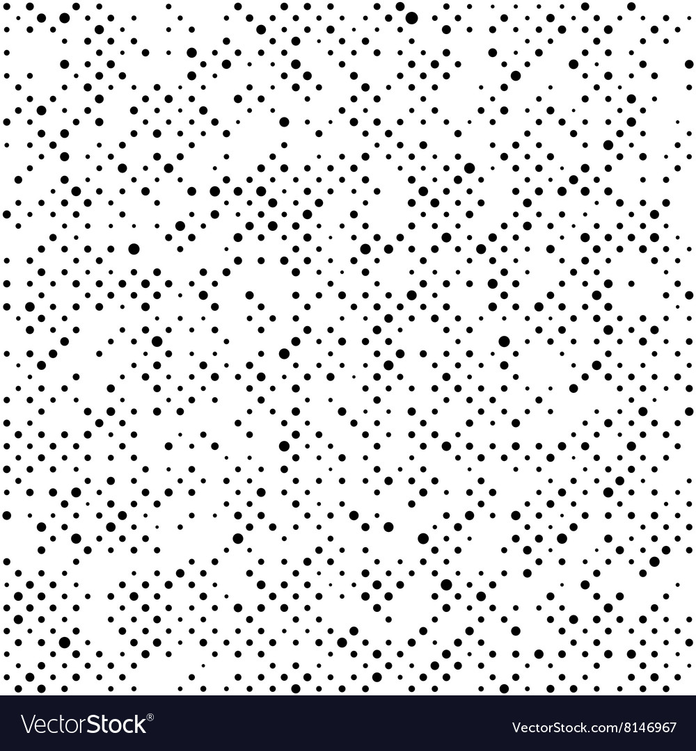 Seamless background with black dots vector