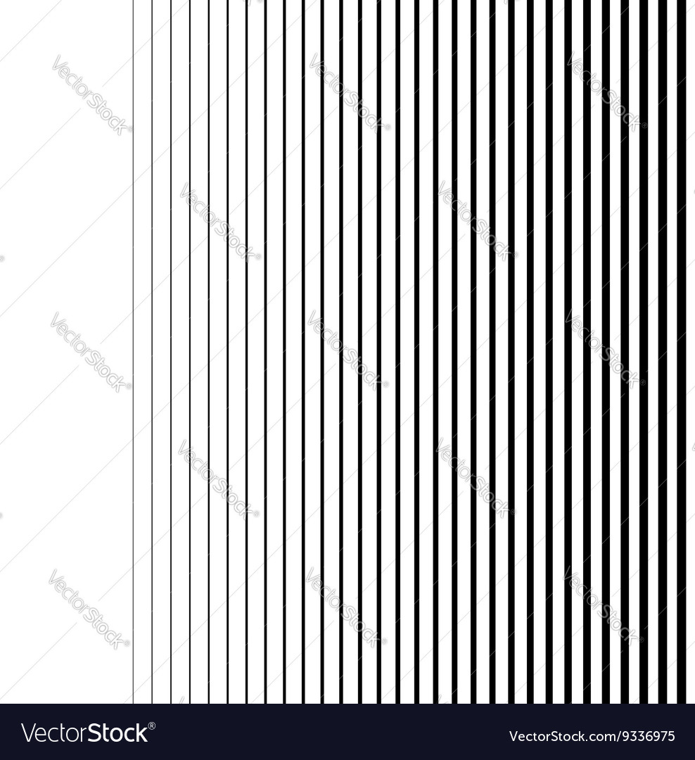 Gradient lines seamless background pattern vector