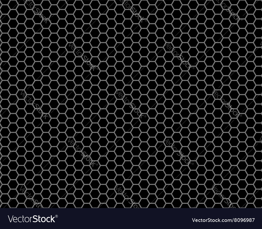 Grid honeycomb seamless pattern vector