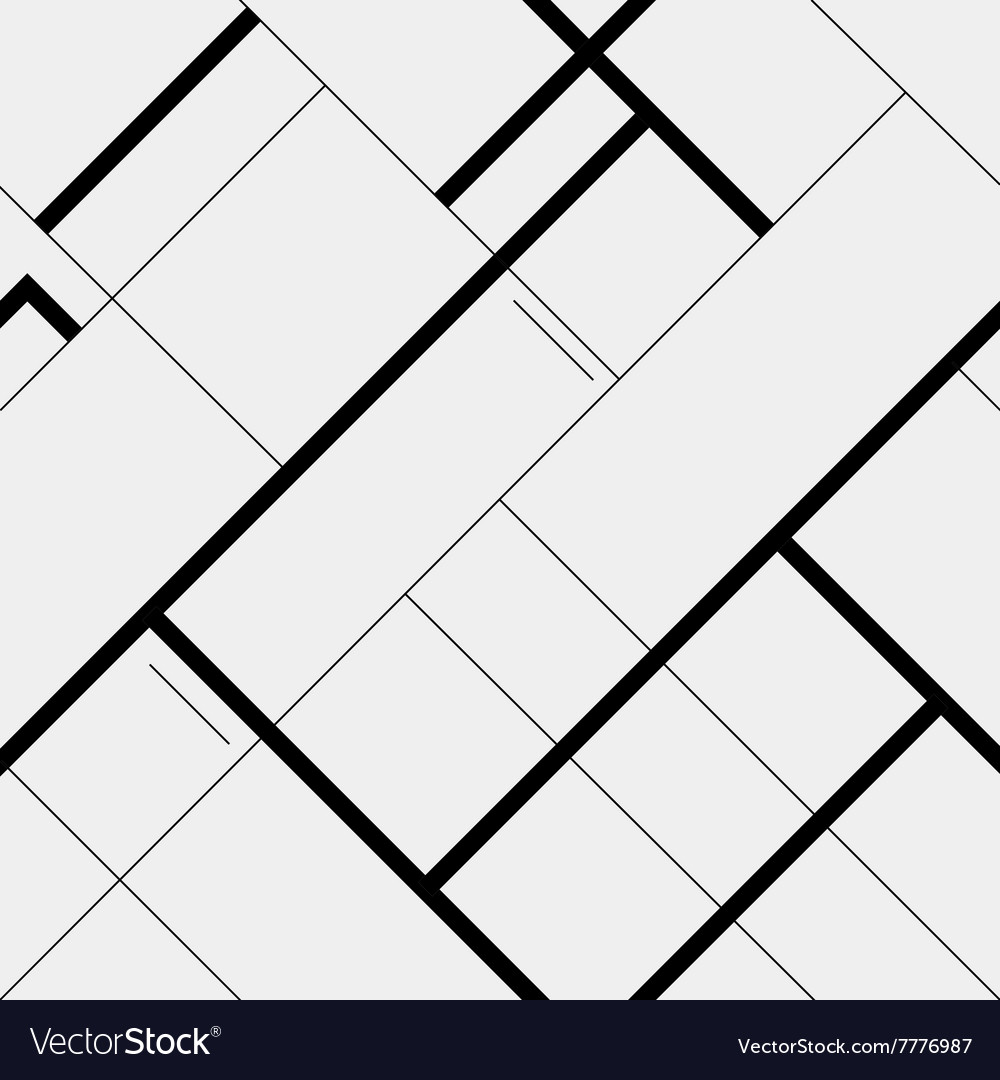 Seamless pattern diagonal polygonal rectangular vector