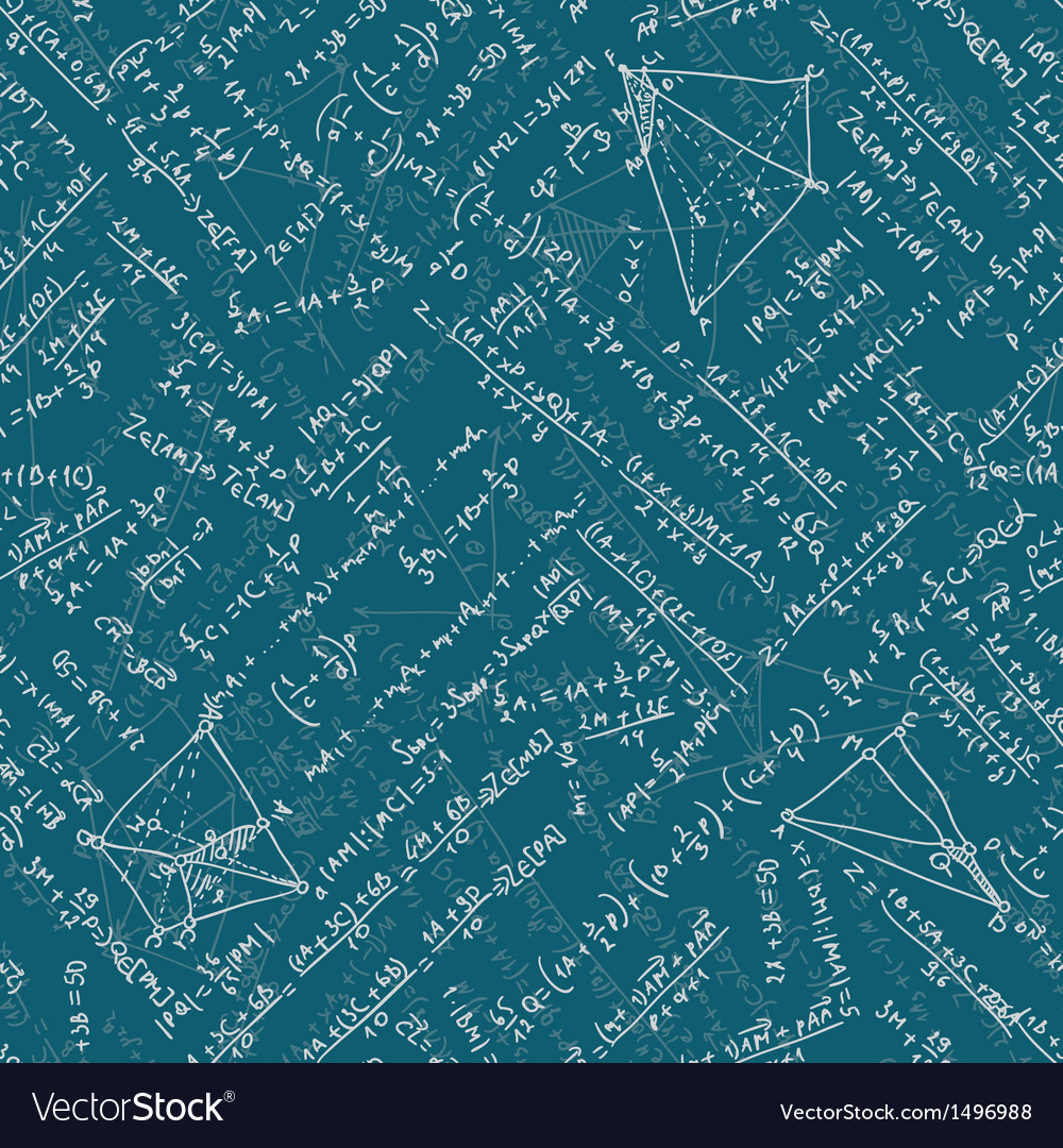 Math seamless background eps 10 vector