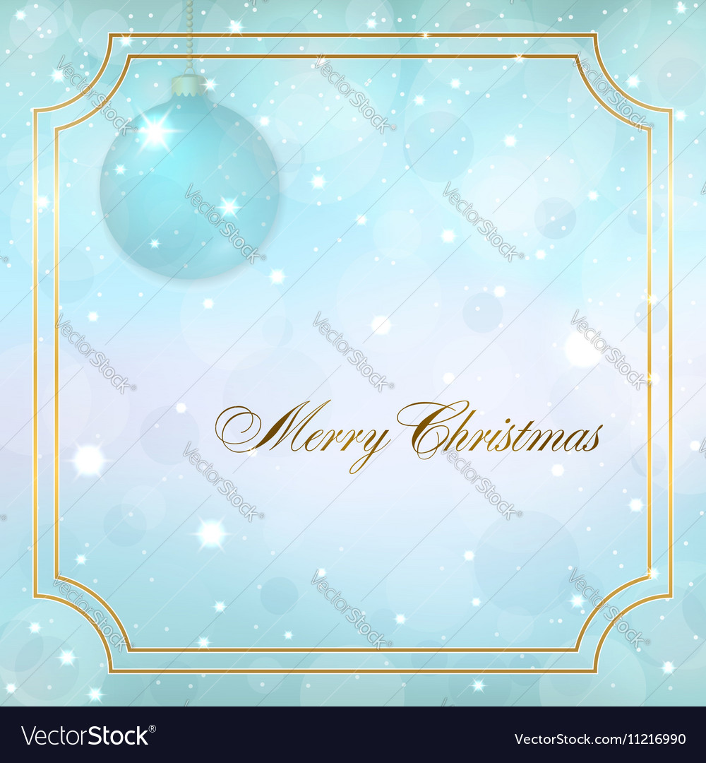 Christmas new year background vector