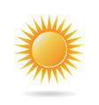 Power Sun Logo vector image