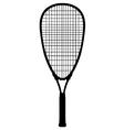 Squash racquet vector image vector image