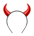 Devils horns vector image