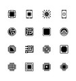electronics - flat icons vector image