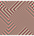 striped textured geometric seamless pattern vector image