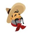 mariachi musician icon vector image