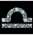 zodiac Libra vector image vector image