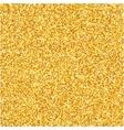 Gold glitter texture Design element vector image