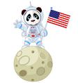 Panda Astronaut vector image vector image