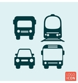 Transport icon isolated vector image