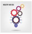 Creative light bulb concept vector image vector image