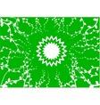 green garden vector image