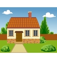 a Ecological house vector image