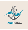 anchor symbol image vector image vector image
