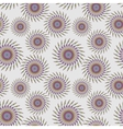 Colorful seamless pattern - abstract flowers vector image